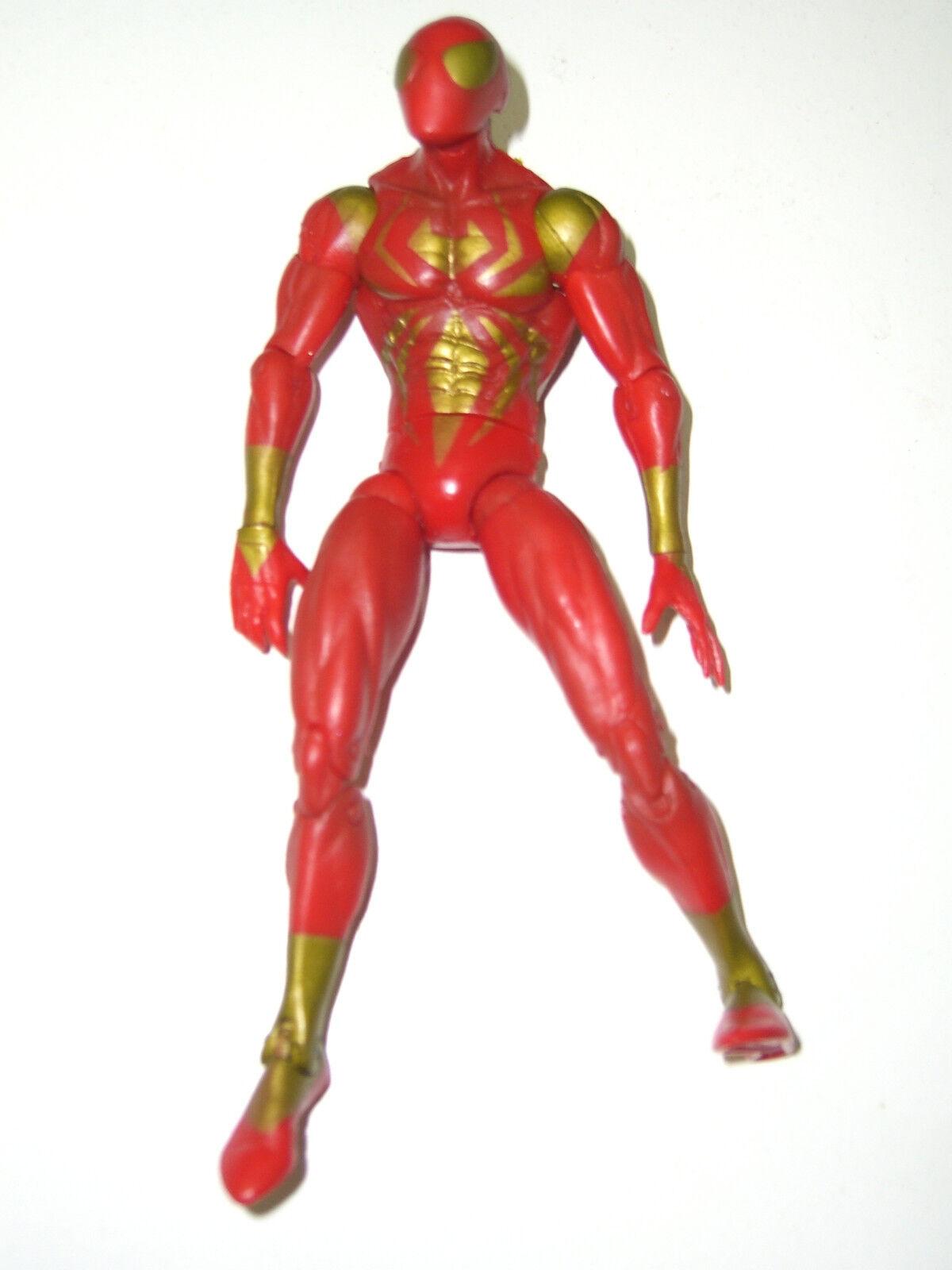 MARVEL SELECT 2006 IRON SPIDER-MAN CIVIL WAR WIZARD EXCLUSIVE TOY BIZ FIGURE