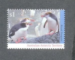 Oiseaux-royal Penguin Neuf Sans Charnière Australian Antarctic Territory-afficher Le Titre D'origine Soulager La Chaleur Et Le Soleil