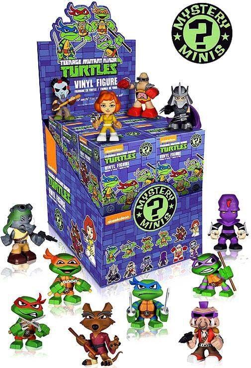Funko Mystery Minis Teenage Mutant Ninja Turtles Mystery Box