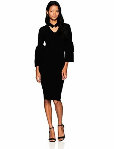 XOXO Juniors Sportswear Womens Tiered Bell Sleeve Dress M Pick SZ//Color.
