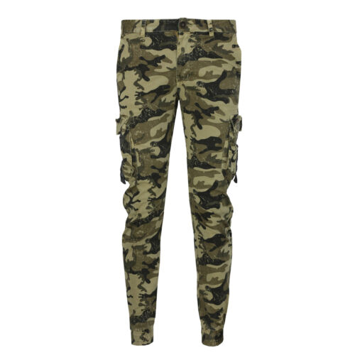 Mens Army Combat Trousers Military Camouflage Camo Cargo Work Casual Pant Jogger