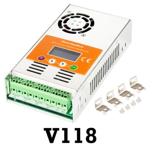 30 A 40 A 50 A 60 A Maximum Power Point Tracking Solar Charge Controller 80 A 100 A 120 A Puissance Régulateur V118