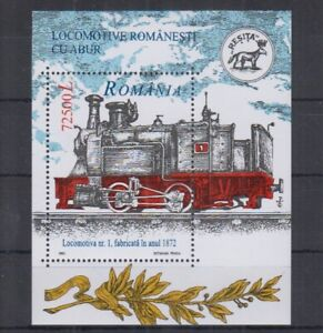Z835. Romania - MNH - Transport - Trains - 2002