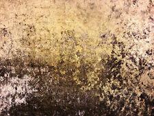LUXURY CRUSHED VELVET COPPER BROWN TEX EX 1144 CURTAIN SOFT FURNISHING FABRIC