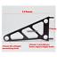 Black-CNC-aluminum-50mm-headlight-bracket-cafe-racer-bobber-streetfighter-custom thumbnail 2