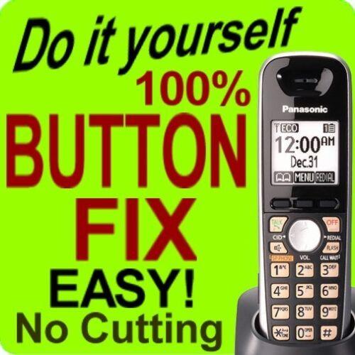 Panasonic Cordless Phone Keypad Button Fix KX-TGA651B KX-TGA652B KX-TG6511 6533
