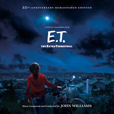 E.T. THE EXTRA-TERRESTRIAL 2-LP VINYL Soundtrack JOHN WILLIAMS La-La Land NEW!