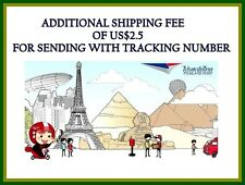 *UNCLE CHAN* Additional Shipping fee of US$2.5 for sending with tracking number