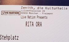 Tickets Rita Ora München 27.04.19 Stehplätze Eintrittskarten Konzertkarten Karte