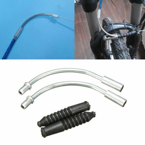 1Kit V Brake Noodles Bicycle Folding Cable Plastic Pipe-Boots-BikeCyc Guide Z1B9