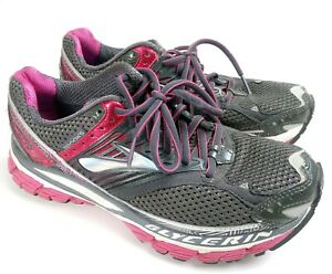 Running Shoes Sneakers Gray Silver Pink