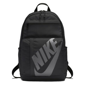 Nike Elemental Unisex Backpack - Black/Anthracite