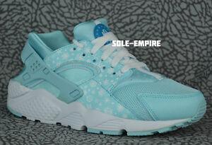 cheap for discount 1db78 f2351 Image is loading Nike-Huarache-Run-Print-GS-704946-401-Copa-
