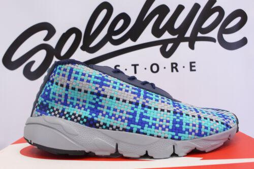 Navy Midnight Nike Air Jade Silver Blue 9 Footscape 652822 Desert Chukka 400 Owwp1xfXq