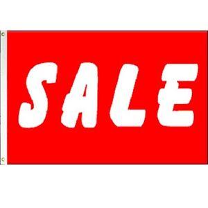 3x5-Advertising-Red-Sale-White-LTR-Marketing-Flag-3-039-x5-039-Banner-Brass-Grommets