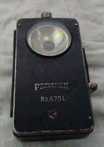 Dynamisch Alte Taschenlampe Ww2 Pertrix 679 L Moderater Preis