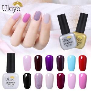 Gel-Nail-Polish-UV-LED-Soak-Off-Ukiyo-Nail-Manicure-Base-Top-Coat-Varnish-Salon