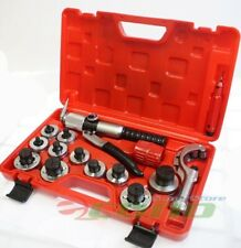 11 Lever Hydraulic Tubing Expander Swaging Punches Tools Hvac Tube Piping Pipe