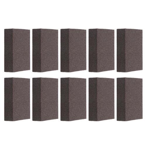 10x Wet Dry Sponge Foam Polishing Sanding Block Pad Sandpaper Abrasive 180 Grit
