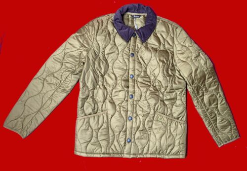 Jacket Size Barbour Track Guaranteed Khaki Bnwt Liddesdale Quilt Xl Original IR4CZq