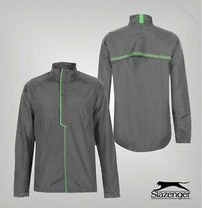 Mens-Slazenger-Long-Sleeves-Full-Zip-Golf-Waterproof-Jacket-Sizes-from-S-to-XXXL