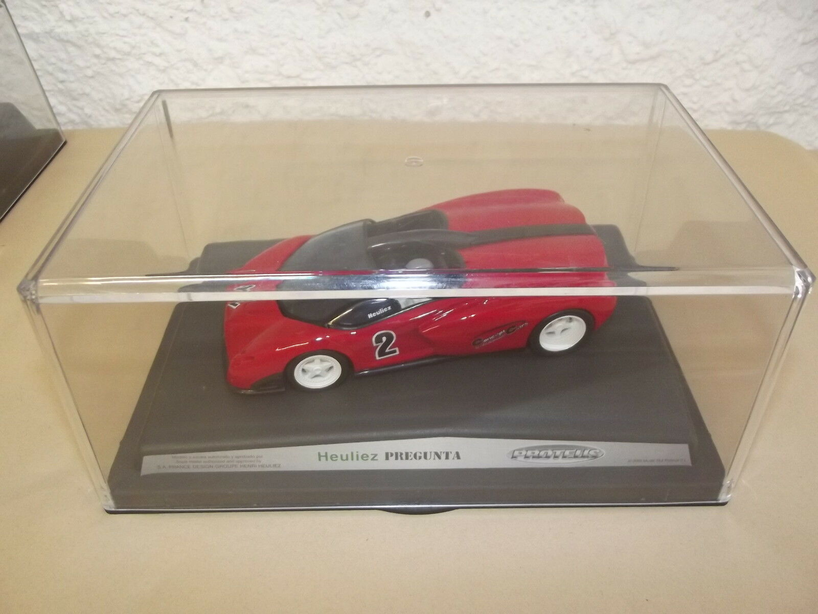 HEULIEZ PREGUNTA-ProjoEUS-2-CONCEPT CARS-RACING DREAMS-SPIRIT-SLOT CAR-1 32-E21