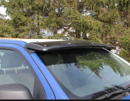 NISSAN Pathfinder 2006-2015 visiera e Bug Guard Solid Black /& Aletta Parasole