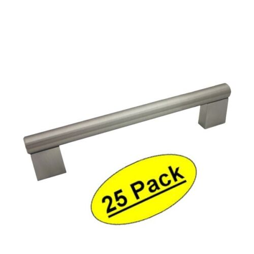 *25 Pack* Cosmas Cabinet Hardware Satin Nickel Contemporary Bar Pull #377-96SN