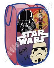 STAR WARS Boys Kids Bedroom Pop Up Foldable Toys Storage Washing Basket