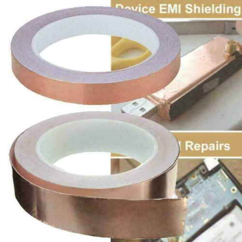 20m x20mm Copper Foil Tape Double Sided high Conductive R8E8 Adhesive G1C8