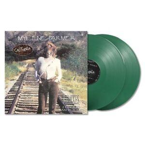Mylene-Farmer-2x12-034-California-Remixes-Tirage-Limite-Vinyles-Verts
