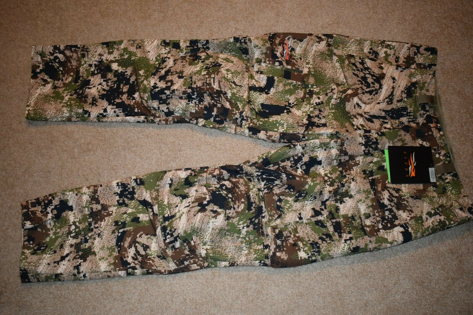 Sitka Gear Mans Mountain Pant Storlek 40R (Optiwand Sulbalpin) NWT