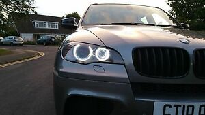 Details About H8 Led Halo Ring 80w Marker Bulbs Replacement Angel Eyes Lights Fit Bmw X5 E70