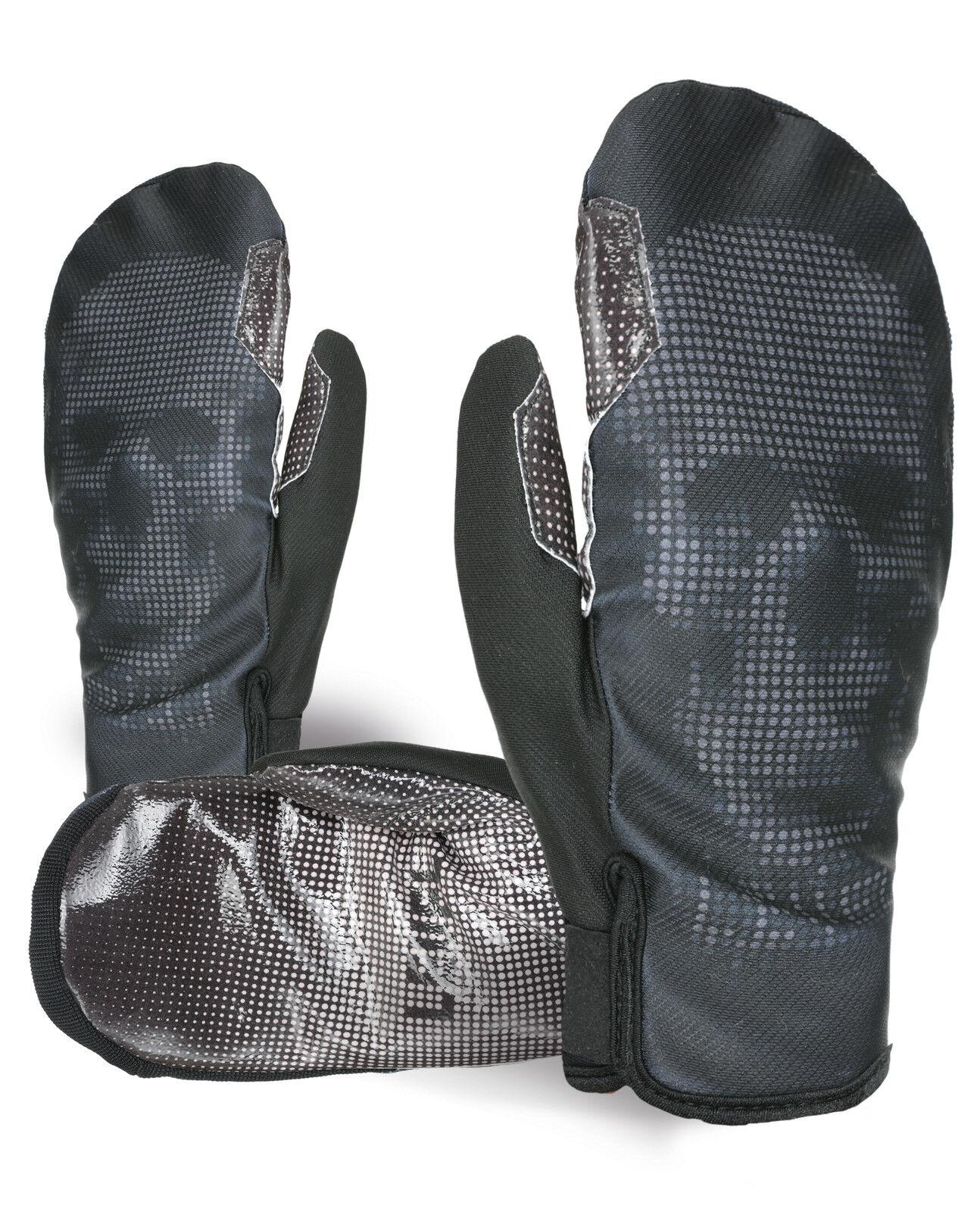 Level Handschuh Skihandschuh black Pro Rider Mitt WS Windstopper