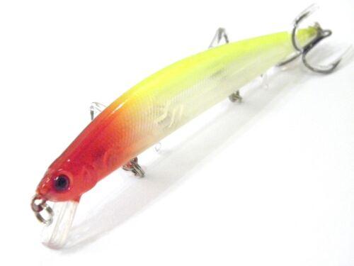 Wlure 12.1cm Pez Pequeño Anzuelos de Pesca Shallow Agua para Lubina Pesca M616