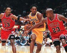 Kobe Bryant Los Angeles Lakers Michael Jordan 8X10 Photo Print