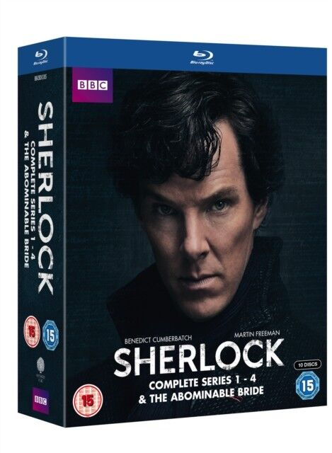 Sherlock (BBC) Série 1 To 4 / The Abominable Mariée Blu-Ray Neuf (BBCBD03