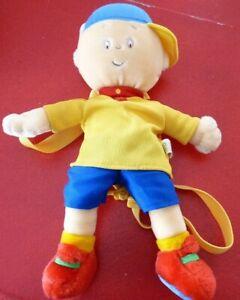 Plush-Toy-Figurine-Caillou-Tiny-Back-Pack-Sack-12-039-039