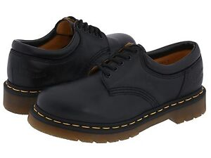Men-039-s-Shoes-Dr-Martens-8053-5-Eye-Leather-Oxfords-11849001-Black-Nappa-New
