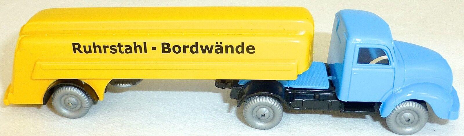 Ruhrstahl bordwände semitrailer tanker magirus IMU 1 87 h0 å