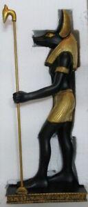 Anubis Ägypten Gott der Toten Poly Bronze Figur Egypt