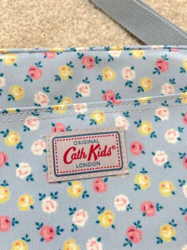 BNWT Cath Kidston Luck Rose Kids Girls Shoulder Crossbody Bag Blue Adjustable