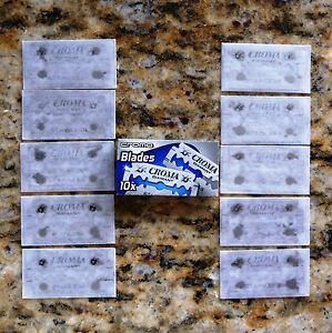 10-Croma-Diamant-Blue-Box-Stainless-Double-Edge-Razor-Blades