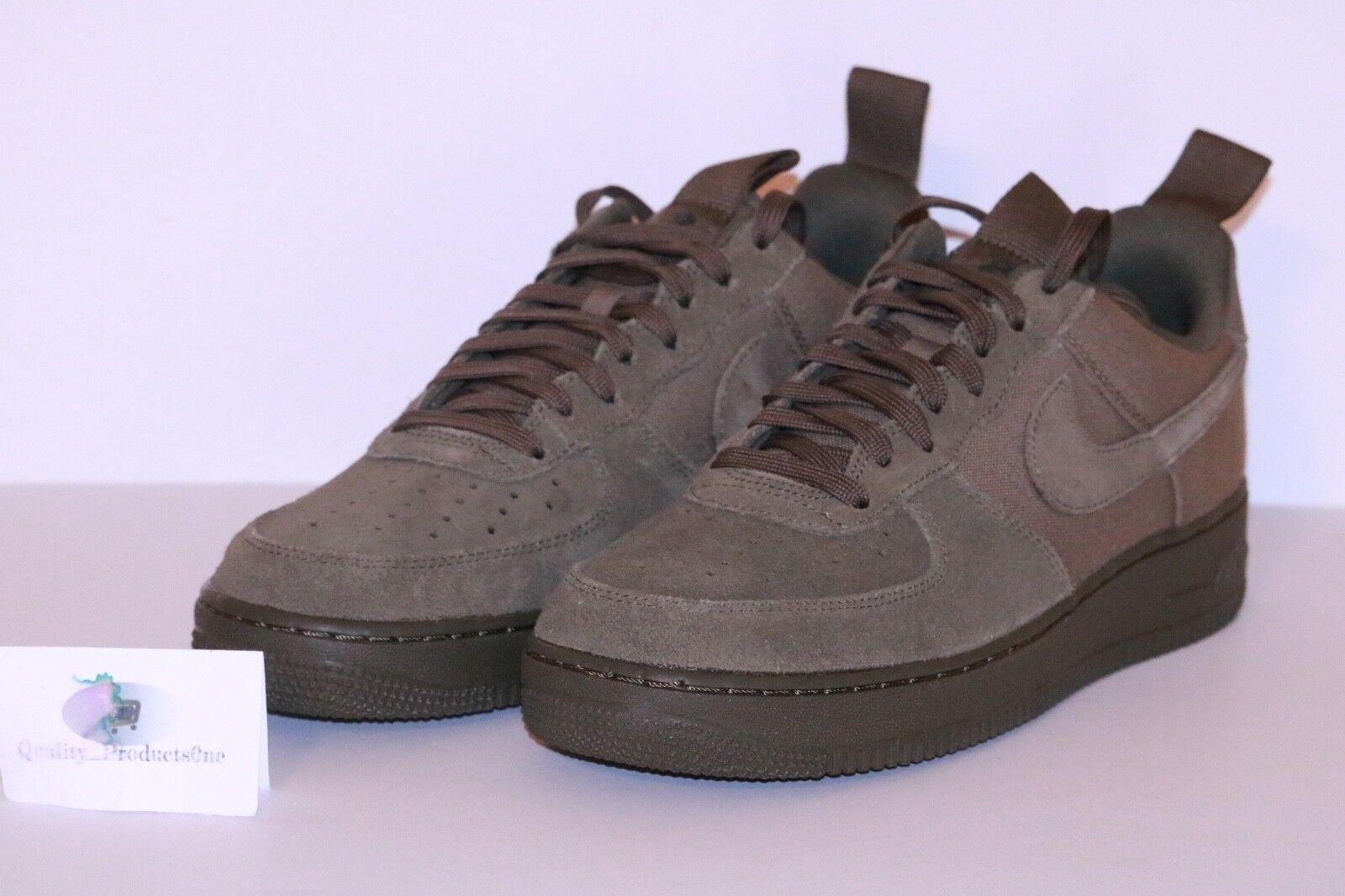 Nike air medium force 1 '07 leinwand medium air olivgrün 579927 200 größe 9. 57c598
