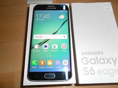 Samsung Galaxy S6 Edge SM-G925F - 64GB - Black Sapphire (Unlocked) Smartphone