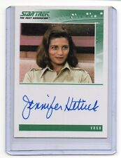 Star Trek TNG JENNIFER HETRICK as VaSH Auto Signed Card Nm-Mt Condition