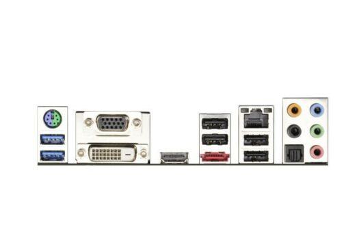 IO I//O Shield Back Plate Plates for ASRock FM2A75 Pro4-M FM2A85X Extreme 4-M
