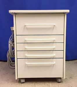 Image Is Loading MCC Dental Alabama Style Deluxe Mobile Cabinet Many