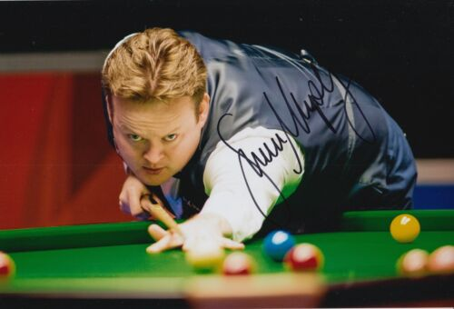 SHAUN MURPHY HAND SIGNED 12X8 SNOOKER PHOTO PROOF 2.