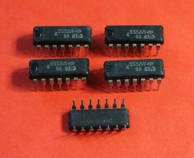 Microchip USSR  Lot of 30 pcs KM555LI1 = SN74LS08 IC